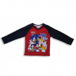 Tričko dlouhý rukáv Sonic