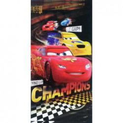 Osuška plážová Cars Champions